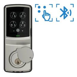 digital door lock รุ่น deadbolt 728 รองรับbluetooth pincode และ OAC