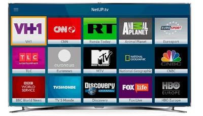 ช่องทีวี โดย netup iptv สำหรับ hotel